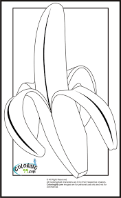 colouring pages for banana bananas colouring pages
