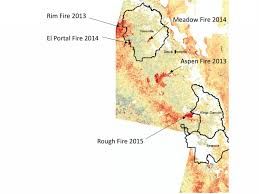 California Wildfire Map 2015 by Aerial Images Show Decades Of Foothill Forest Growth Erased Due To