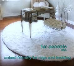 Faux Fur Area Rugs Interiors Magnificent Black Furry Area Rug Faux Fur Skin Rug