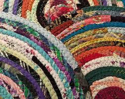 American Made Braided Rugs Rag Rugs Etsy