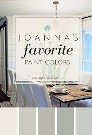 joanna u0027s five favorite fixer upper paint colors alablaster