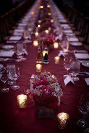 Table Wedding Decorations Burgundy Wedding Decoration Ideas 1936
