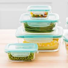 glass kitchen storage canisters food storage food containers airtight storage jars the