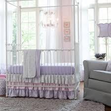 Lilac Damask Crib Bedding Lilac And Silver Gray Damask Baby Crib Bedding Baby Purple