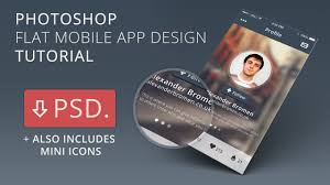 template youtube photoshop cc mobile app design tutorial photoshop cc template youtube