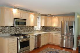 Finishing Kitchen Cabinets Ideas by Cost To Refinish Kitchen Cabinets Tehranway Decoration