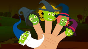 witches finger family halloween song scary nursery rhymes for