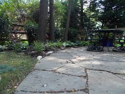 Slate Rock Patio by Ask Devin Plastic Edging For Flagstone Devine Escapes