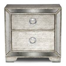 Mirrored Nightstand Cheap Furniture Elegant Mirrored Accent Table For Home Ideas White With