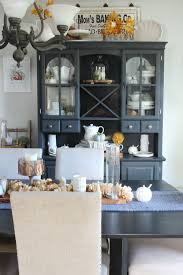 gray dining rooms farmhouse fall dining room fall home tour part 1 clean and