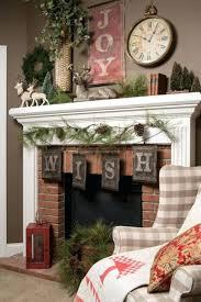 holiday fireplace mantel decorations decorating ideas christmas