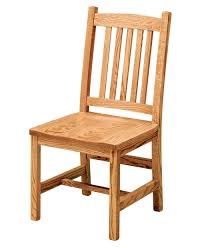Amish Oak Dining Room Furniture Logan Dining Chair Amish Direct Furniture