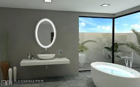 Illuminated Bathroom Mirrors Backlit Bathroom Mirror Slisports