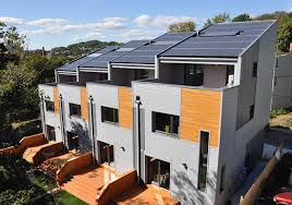 solar panels on houses heliotrope the world u0027s first energy positive solar home