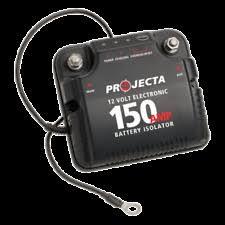 projecta dbc150 electronic dual battery isolator 12v ebay