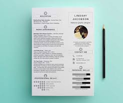 graphic design resume graphic designer resume template on behance