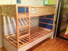ikea kura hack storage under bed by nikki bedrooms pinterest
