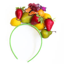 fruit headband tutti frutti headband diy via blossom