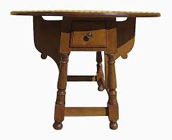 Pine Drop Leaf Table And Chairs Identifying Antique Dining Table Styles And Types