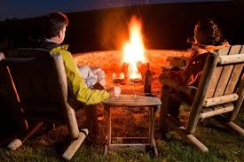 Ll Bean Fire Pit - how far should a fire pit be from a house guidelines for placing