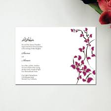 muslim wedding cards usa wedding invitation cards usa size of wedding cards with