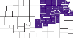 Kansas State Map Northeast Area Extension Office Research And Extension Kansas