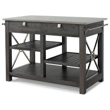 kitchen island with here comes temptation