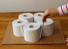 hochzeitstorte aus toilettenpapier anleitung klopapiertorte selbst basteln diy