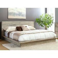 Walmart Platform Bed Frame King Platform Bed White Washed Modern Rustic California Renewal