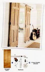 diy barn door idea for the hardware kitchen pinterest diy