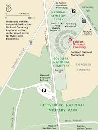Battle Of Gettysburg Map Gettysburg Maps Npmaps Com Just Free Maps Period