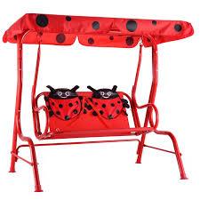 amazon com costzon kids patio swing bench children porch swing