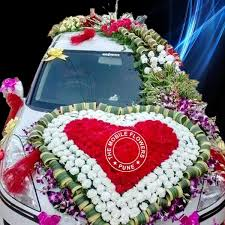 marriage decoration car decoration for marriage car decoration for wedding in pune