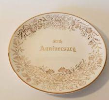 50th anniversary plates 50th anniversary plate ebay