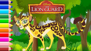 disney lion guard coloring book fun for kids fuli youtube