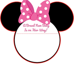 Minnie Mouse Baby Shower Invitations Templates - download new free printable mickey mouse baby shower invitation