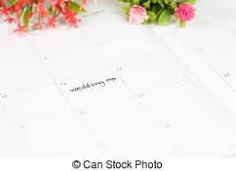 calendrier mariage photo de stock de stylo rappel calendrier jour mariage