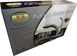 water ridge patrician series kitchen faucet brushed nickel