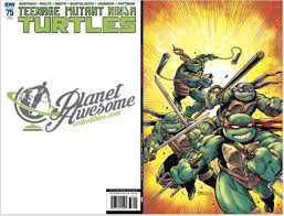 planet awesome collectibles u2014 teenage mutant ninja turtles 75
