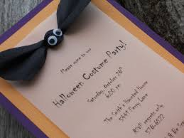 Halloween Birthday Invitations by Homemade Invitation Ideas U2022 Life Food Family