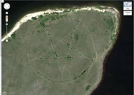 Google Maps Las Vegas Nv by Mysterious Pentagram On Google Maps Explained
