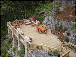 Landscaping Ideas For Slopes Backyards Fascinating Sloped Back Yard Landscaping Ideas