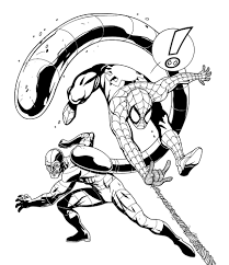 spider man picture coloring pages spiderman coloring