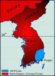 pusan on map out in the cold australia s involvement in the korean war the