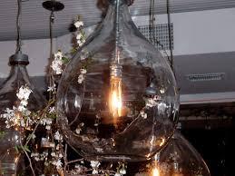 Blown Glass Pendant Lights Industrial Glass Pendant Lighting Hudson Goods