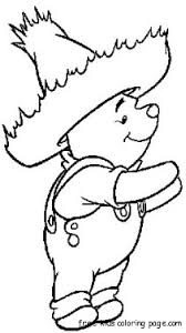 coloring pages winnie pooh disney charactersfree printable