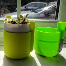 self watering planter self watering planter colorfabb fluorescent yellow printin xyz