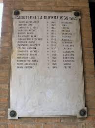 ingresso s file chiesa di santa cristina ingresso lapide caduti seconda