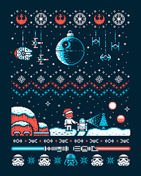 merry santa wars darth vader