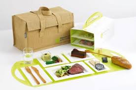 dejeuner au bureau déjeuner livré se met au vert